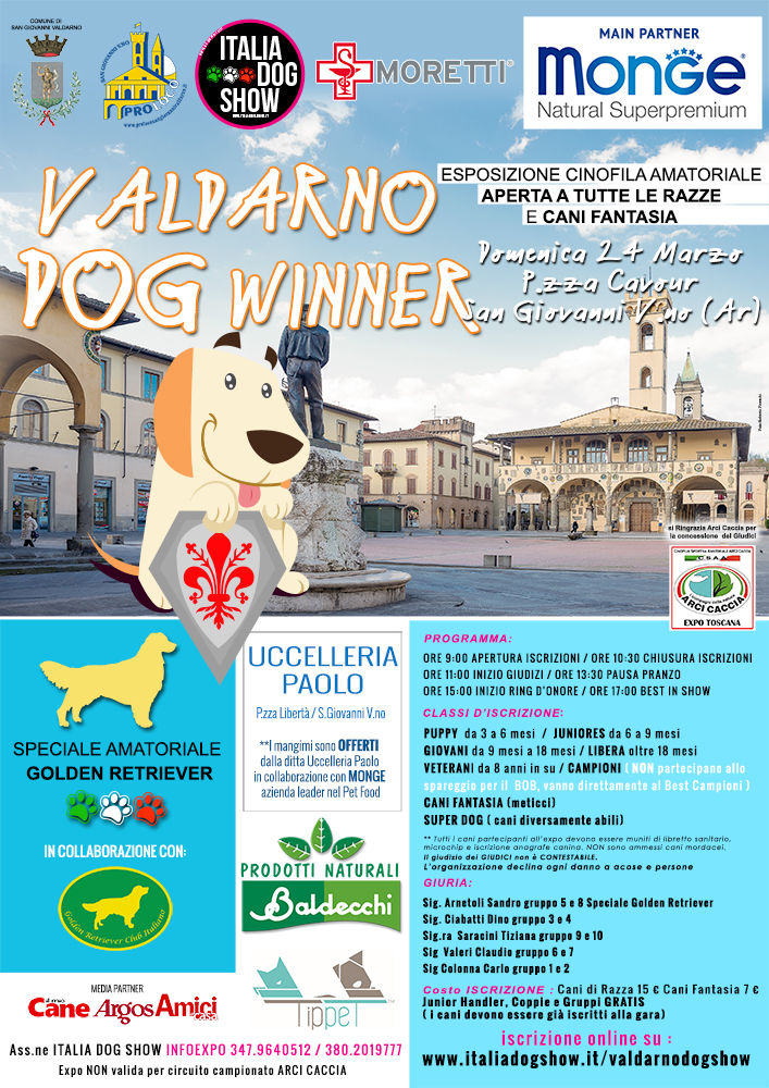 Valdarno Dog Winner
